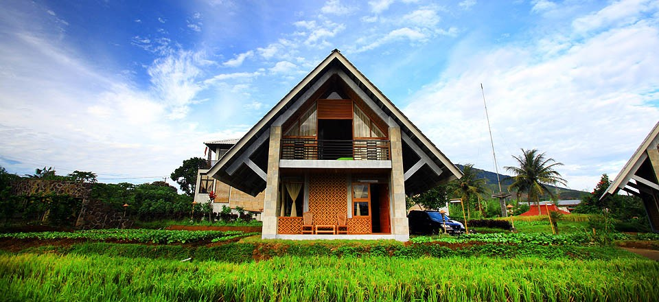 Rumah Sawah dan Rumah Kebun